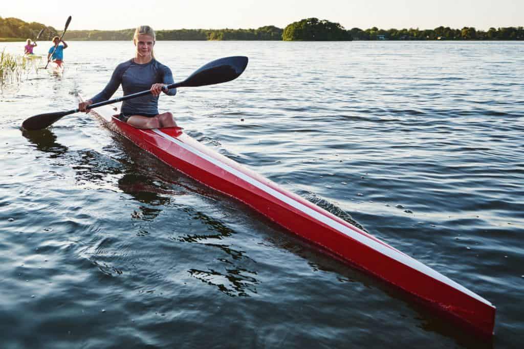 Are Kayaks Stable - Long Narrow Kayak
