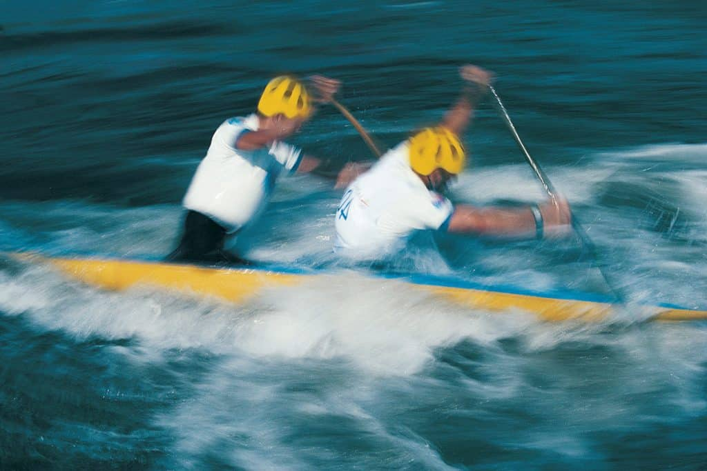 Average Canoe Speed - Fitness