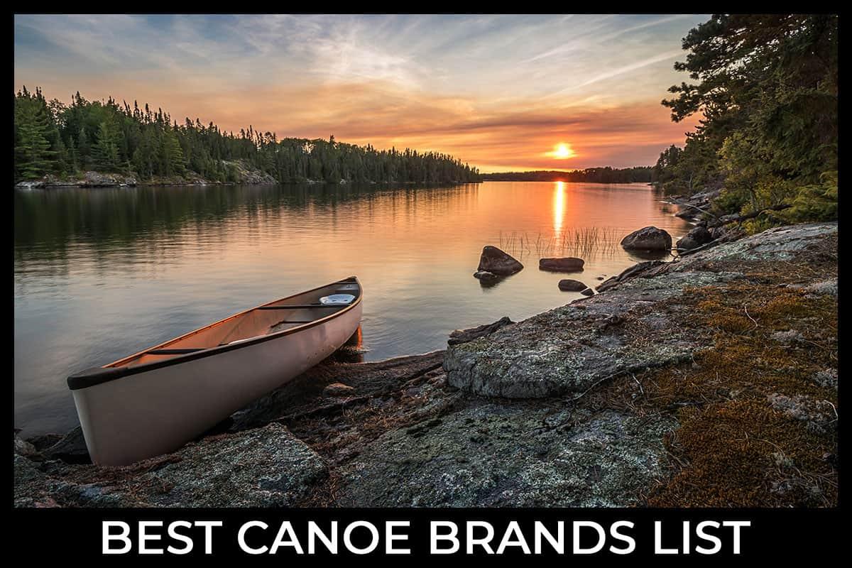 Best Canoe Brands List