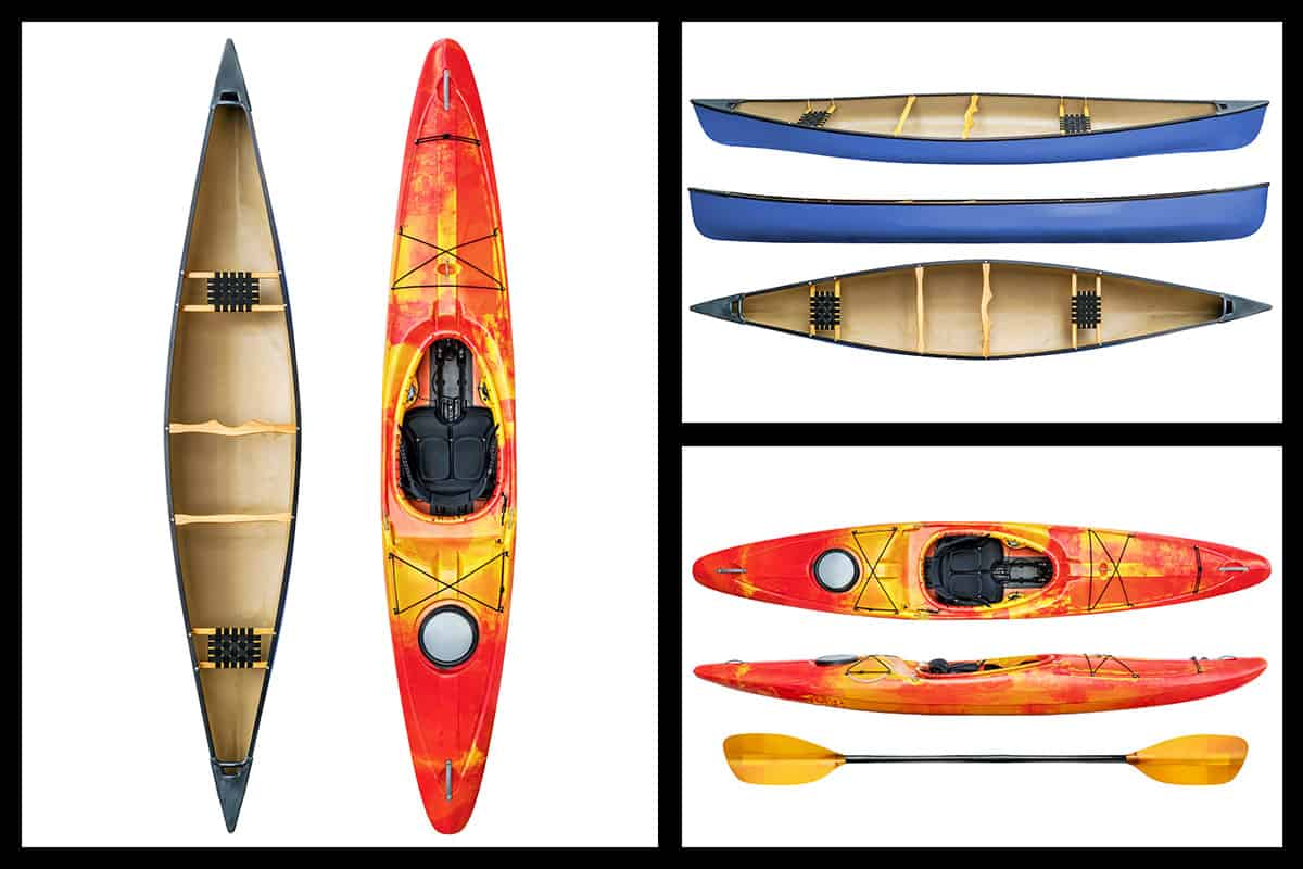 Canoe vs Kayak Difference