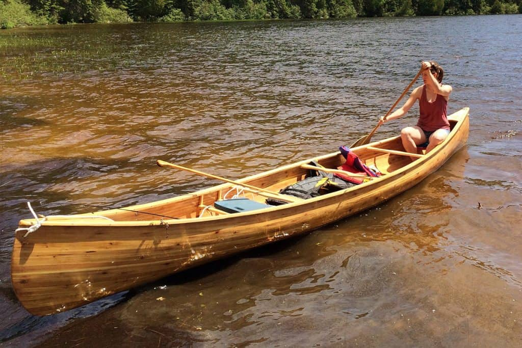 How Much Does a Wood Canoe Weigh?
