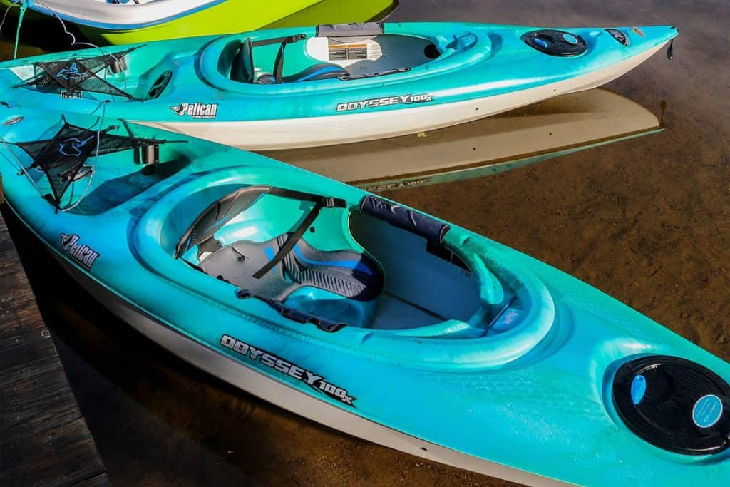 Different Types of Kayaks - Sit-inside