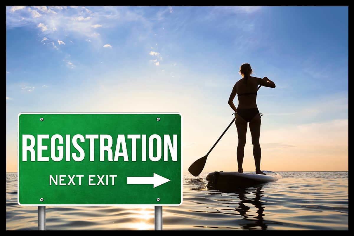 Do You Have to Register a Paddle Board