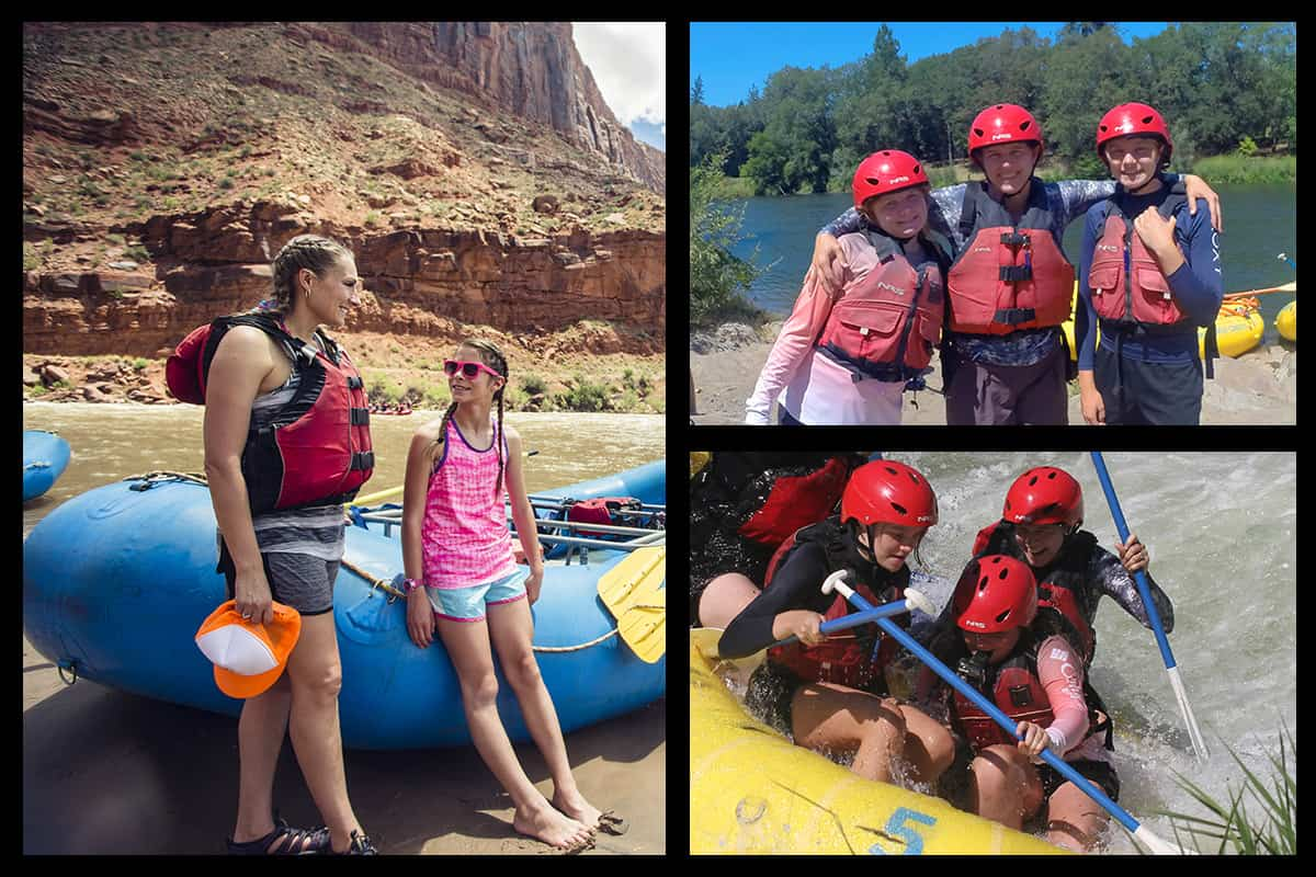 How old do you have to be to go white water rafting?
