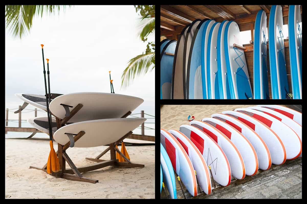 How to Store Paddle Boards