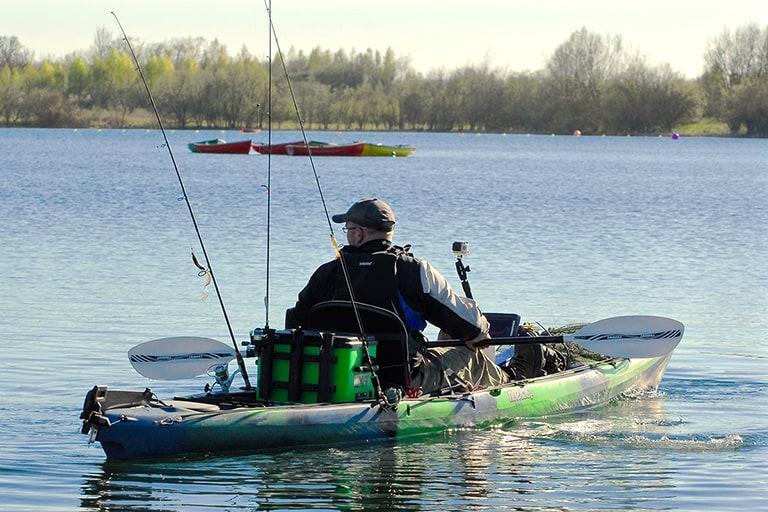 Kayaking Beginners - Fishing