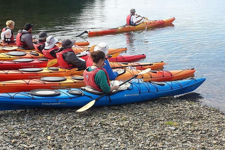 Kayaking Beginners Lesson