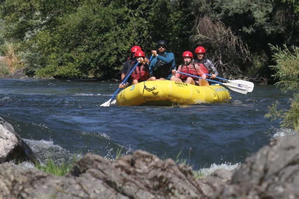 Rogue River Rafting Oregon - Bradley