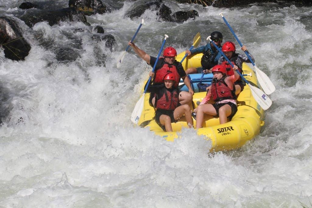 Rogue River Rafting Oregon - Nugget Falls1