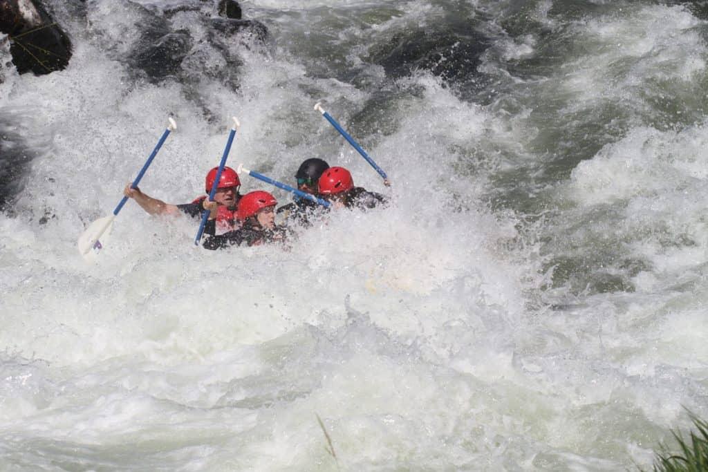 Rogue River Rafting Oregon - Nugget Falls2