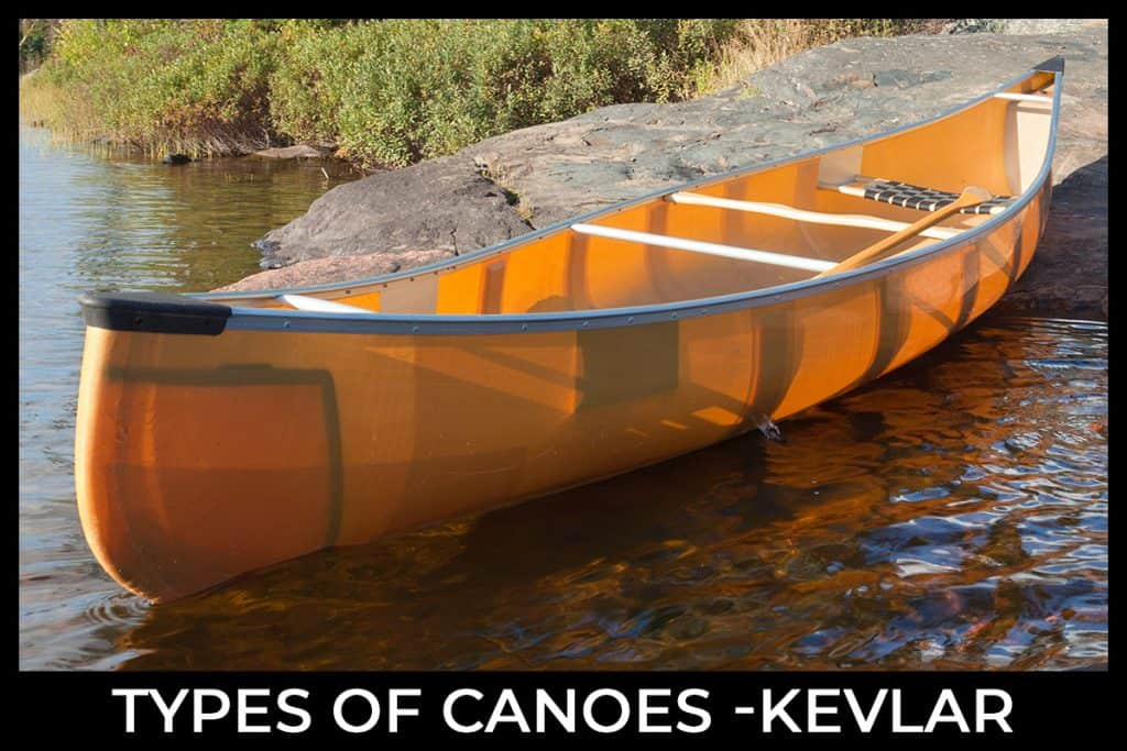 Types of Canoes - Kevlar