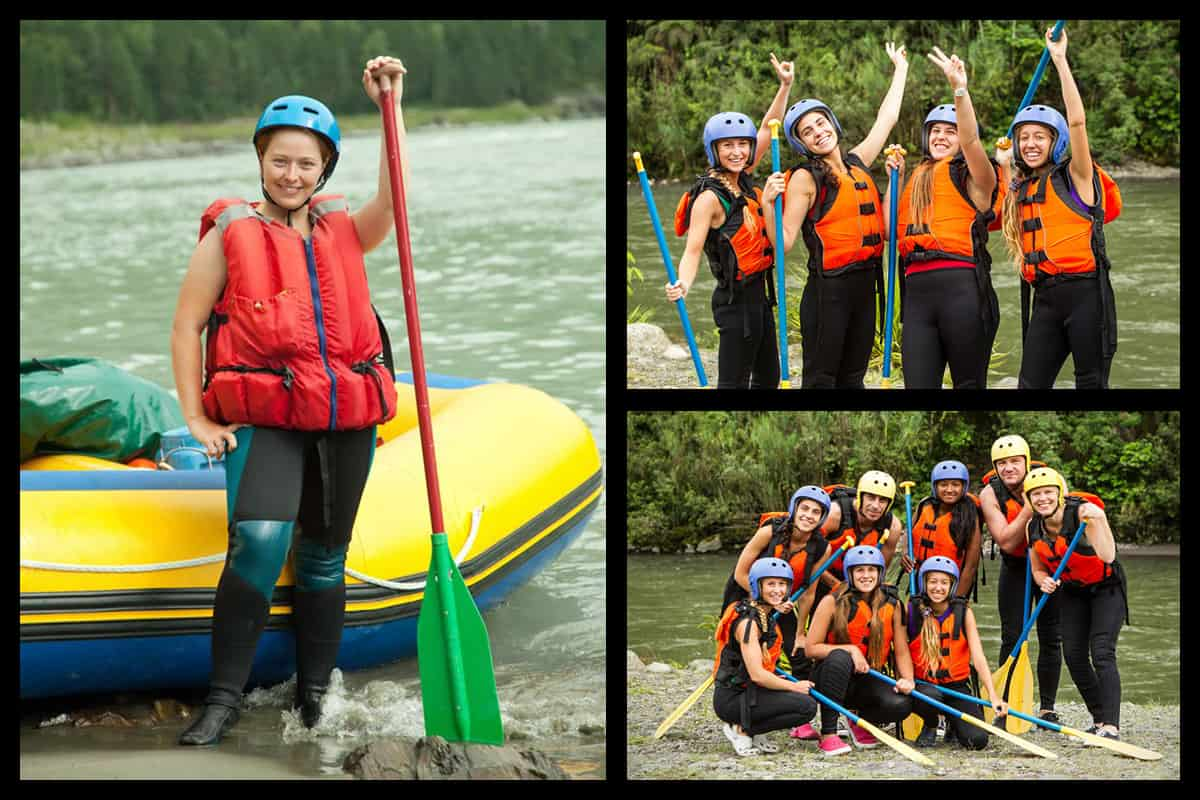 What to Wear When White Water Rafting