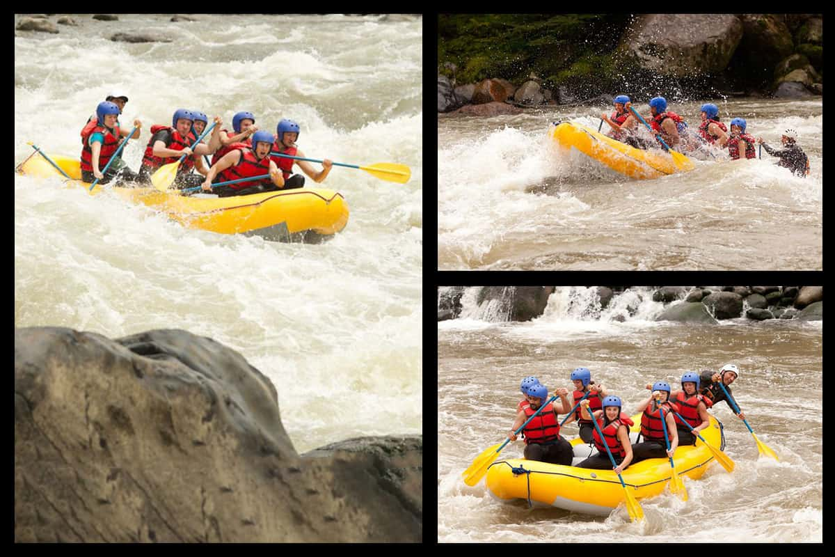 White Water Rafting Classes of Rapids